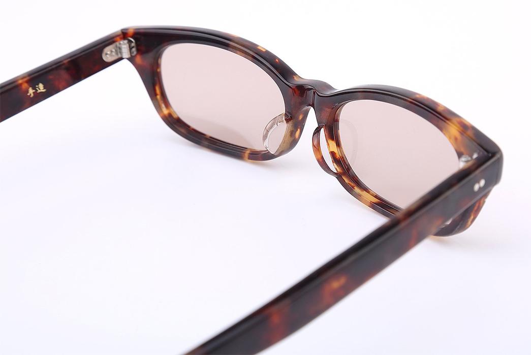 Samurai-'Boss'-Celluloid-Glasses-brown-yellow-inside-front