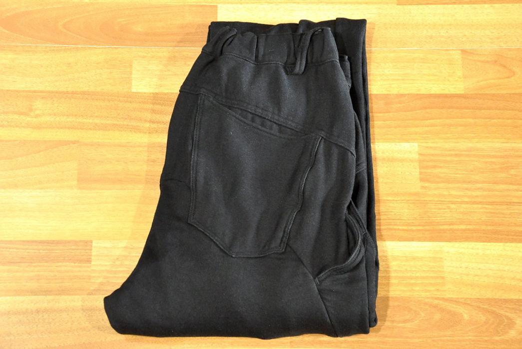 Stevenson-Overall-Messenger-Selvedge-Sweatpants-folded