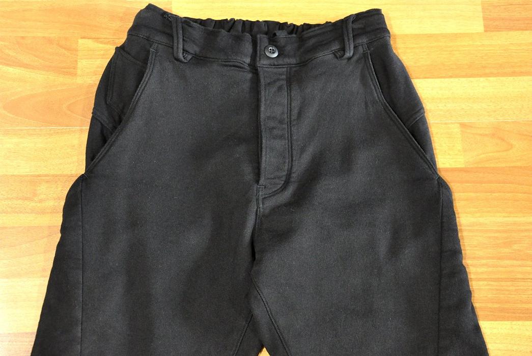 Stevenson-Overall-Messenger-Selvedge-Sweatpants-front-top
