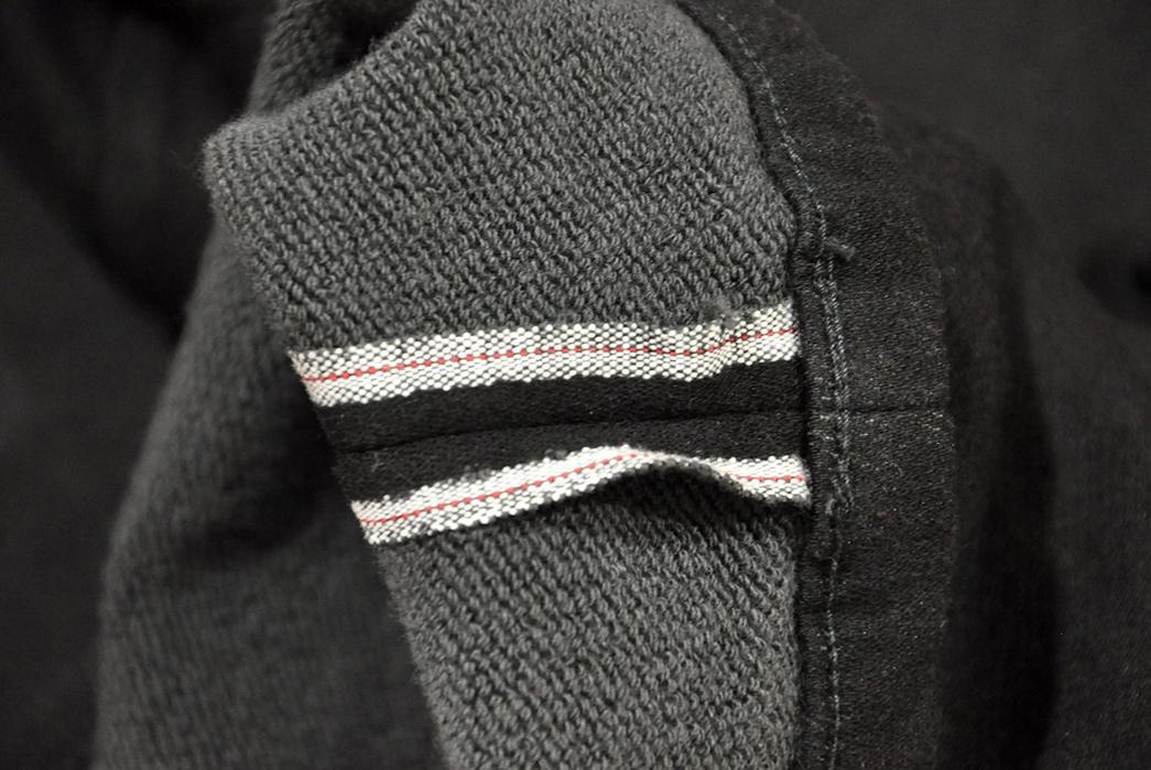 Stevenson-Overall-Messenger-Selvedge-Sweatpants-leg-inside-seam
