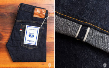 Tanuki-NST-SEN-16.5oz-Natural-Indigo-Stretch-Selvedge-Denim-folded-and-leg-selvedge