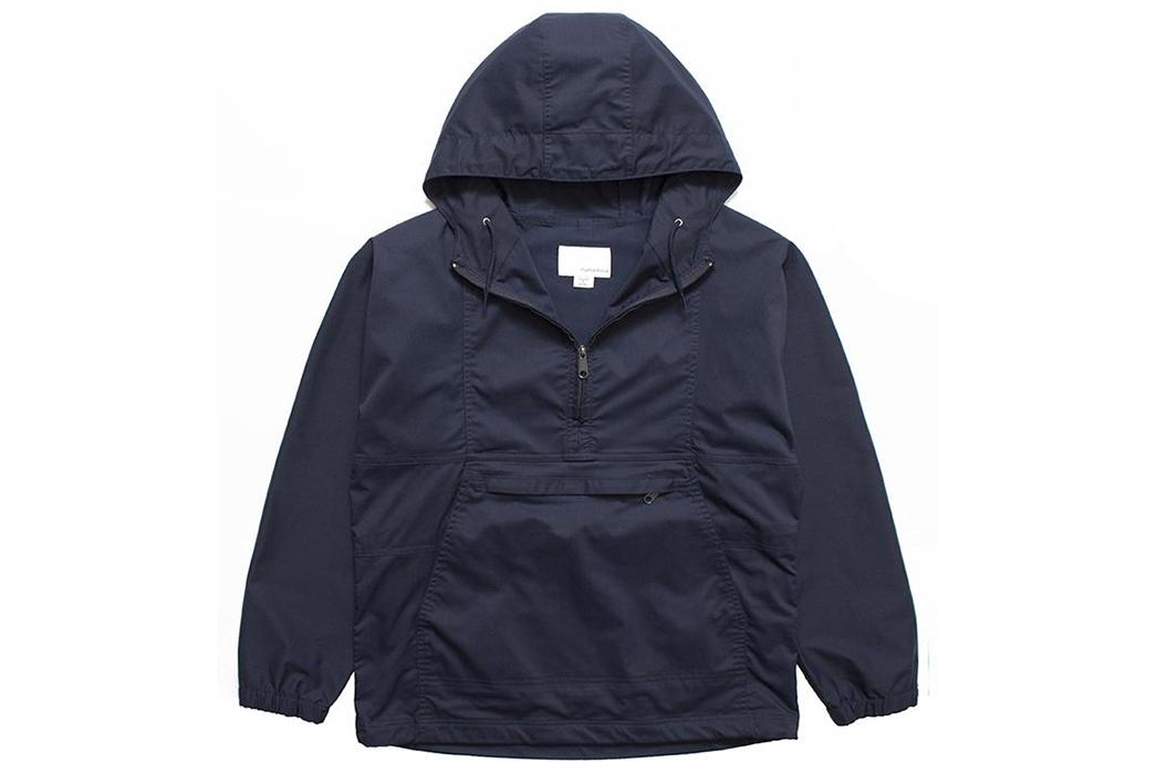 Anorak---Five-Plus-One 1) Nanamica: Dock Anorak Jacket