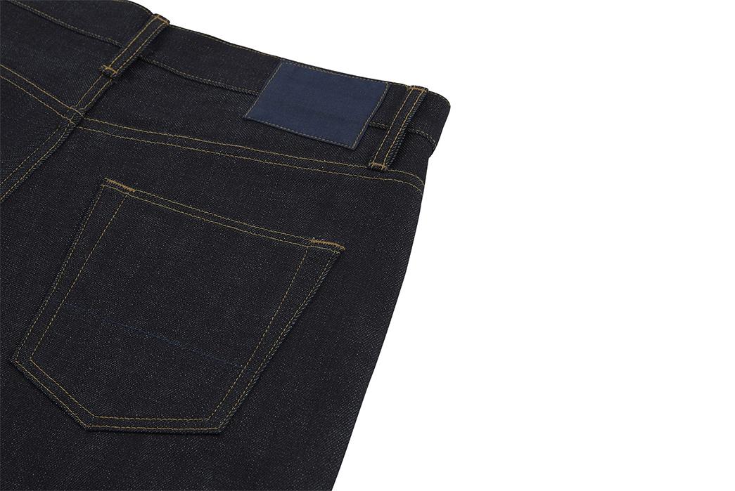 Blackhorse-Lane-x-Turnbull-&-Asser-Indigo-Selvedge-Weekend-Jeans-back-top-right-pocket