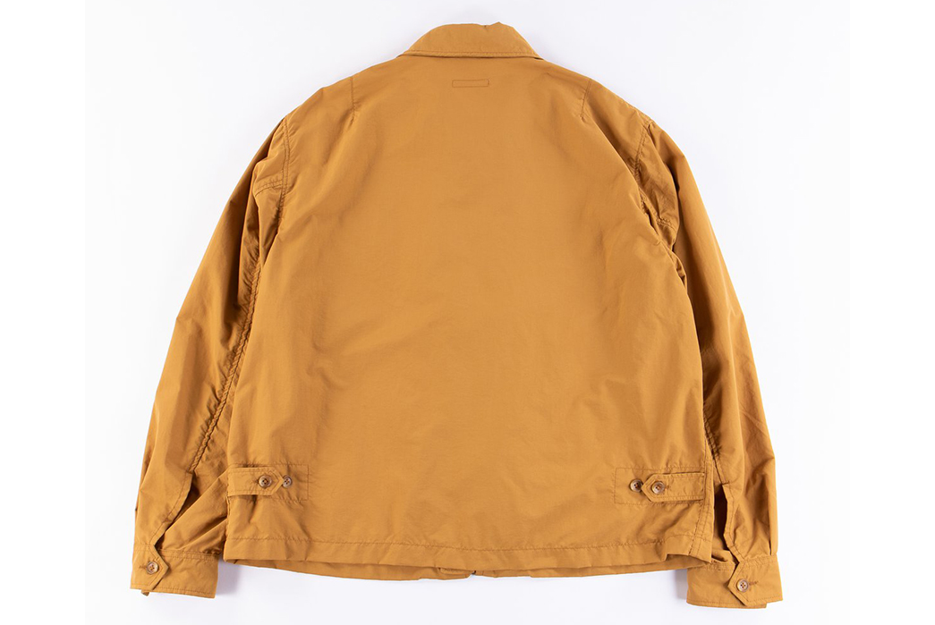 Engineered-Garments-Driver-Jackets-yellow-back