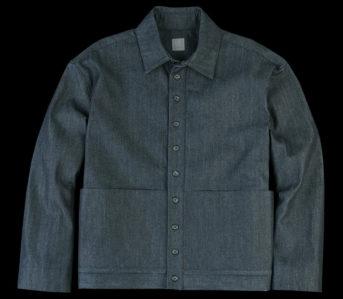 GREI.-Cropped-Raw-Denim-Shorty-Jacket-front