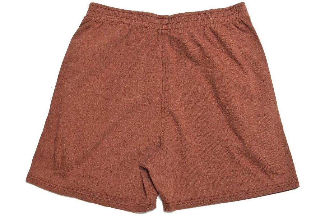 National-Athletic-Goods-Track-Short-red-back
