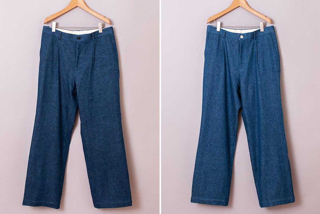 Niuhans-Irish-Linen-Cotton-Denim-Wide-Pants-dark-and-light-fronts