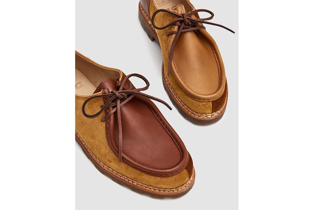 Paraboot-x-YMC-Michael-Shoe-pair-detailed