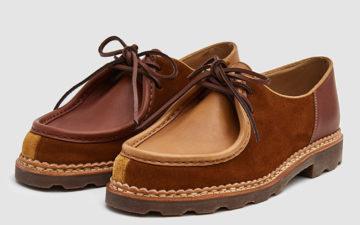 Paraboot-x-YMC-Michael-Shoe-pair-front