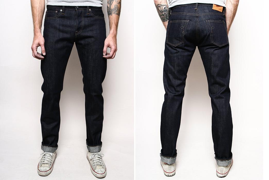 Rogue-Territory-Slub-Stanton-16.75-oz.-Raw-Denim-Jeans-front-back