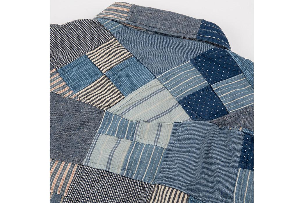 RRL-Patchwork-Western-Shirt-back-collar