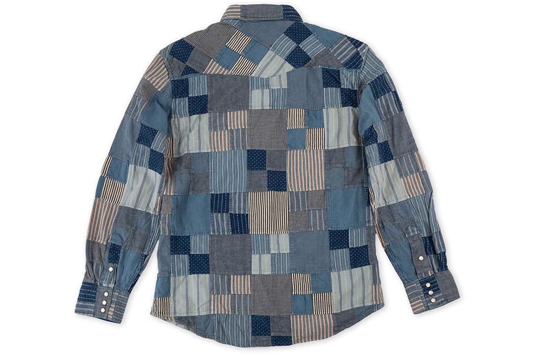 RRL-Patchwork-Western-Shirt-back