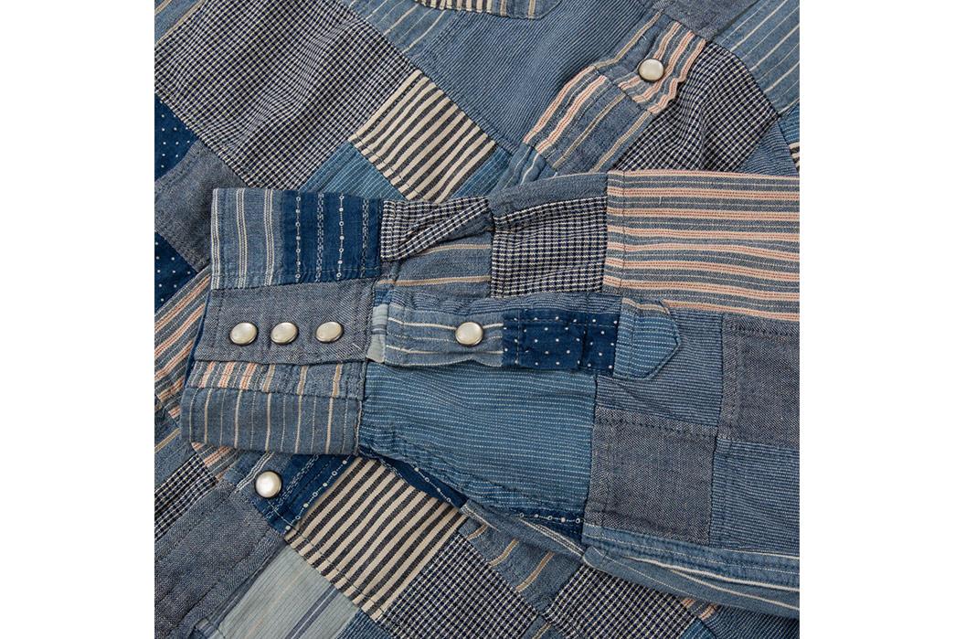 RRL-Patchwork-Western-Shirt-front-sleeve