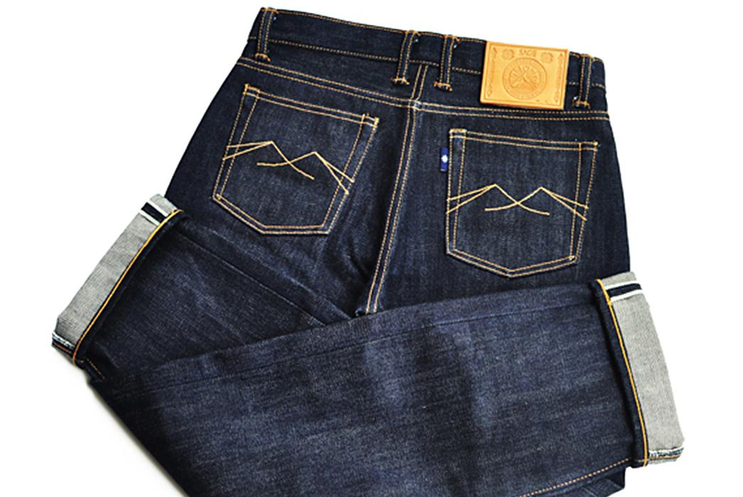 Sage-Ironchief-23oz.-Unsanforized-Extra-Deep-Indigo-Jeans-back-legs-up