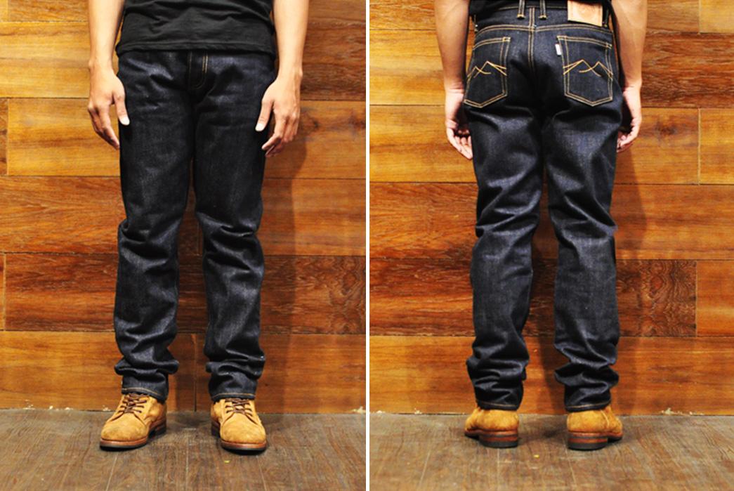Sage-Ironchief-23oz.-Unsanforized-Extra-Deep-Indigo-Jeans-model-front-back