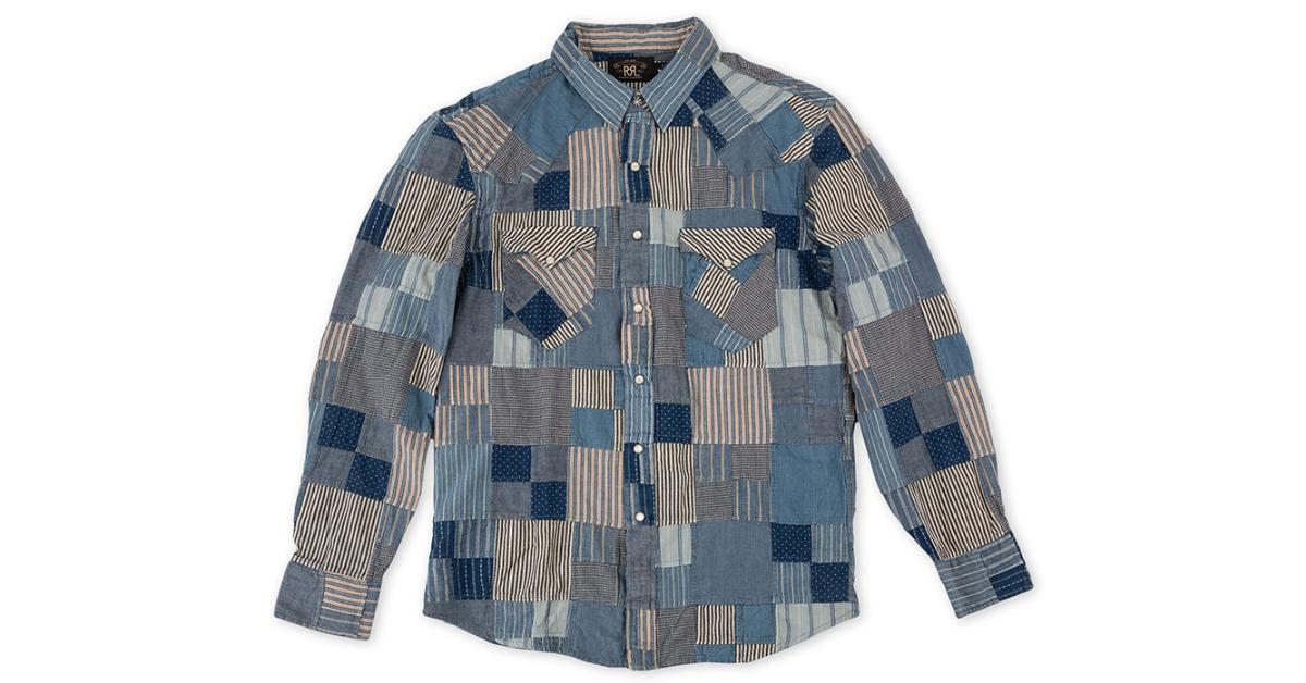 social-RRL-Patchwork-Western-Shirt-front