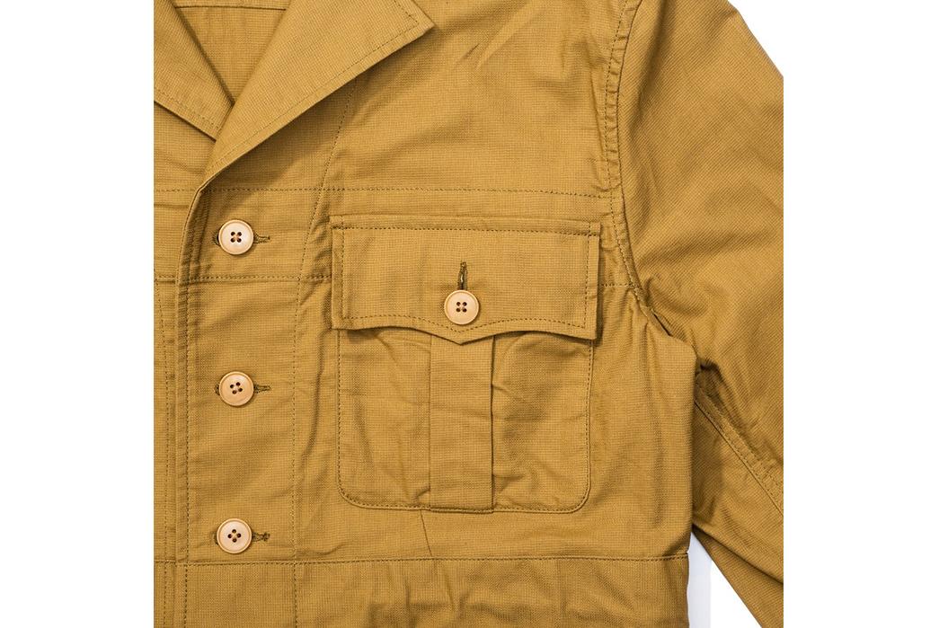 Soundman-643M-906N-Whitby-Jacket-beige-front-left-pocket