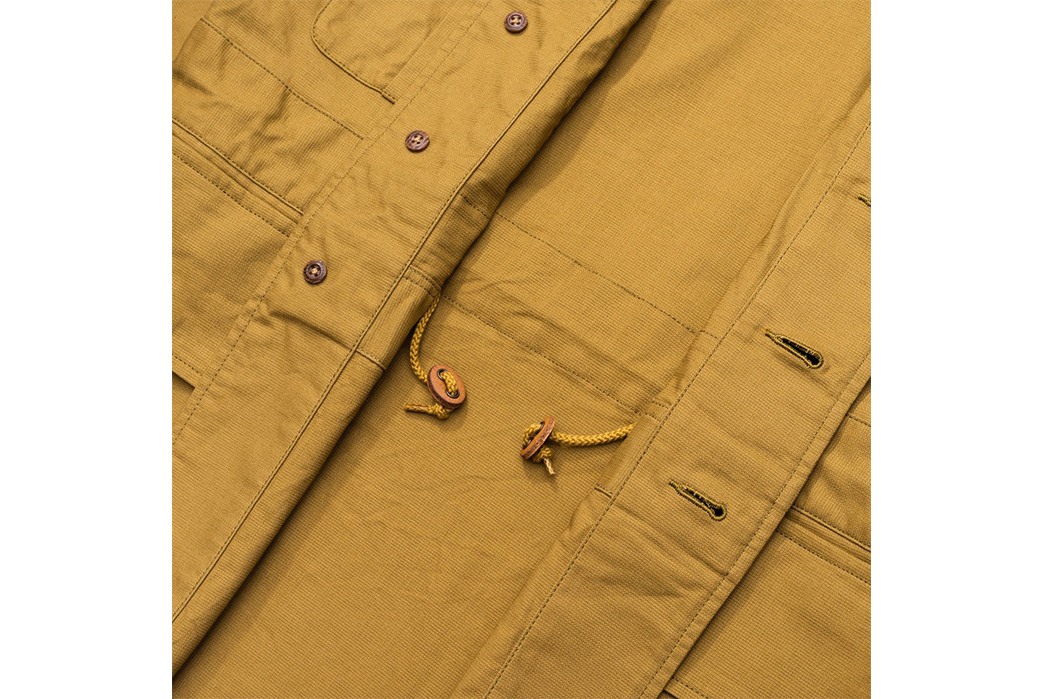 Soundman-643M-906N-Whitby-Jacket-beige-front-open-detailed