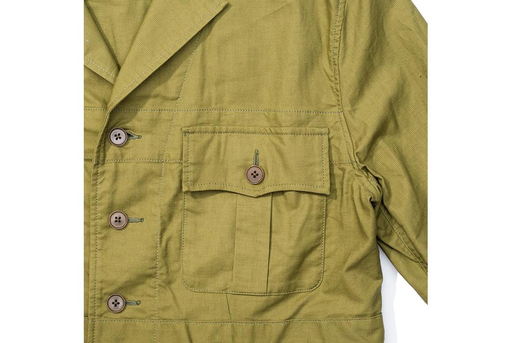 Soundman-643M-906N-Whitby-Jacket-olive-front-left-pocket