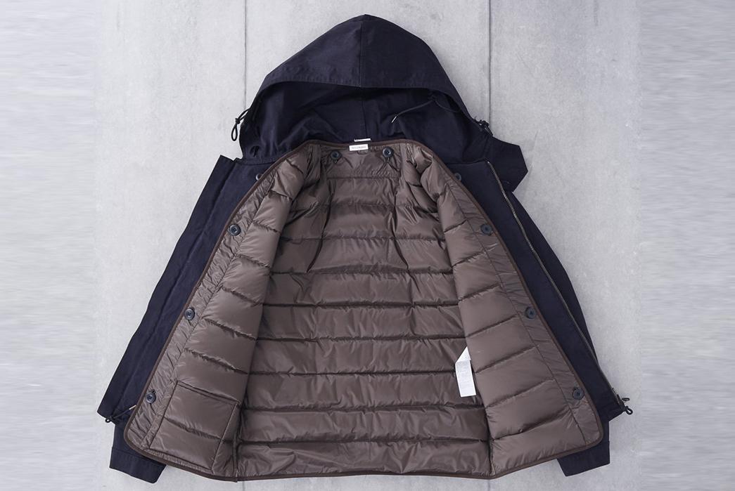 Ten-C-OJJ-Anorak-Jacket-front-open-inside