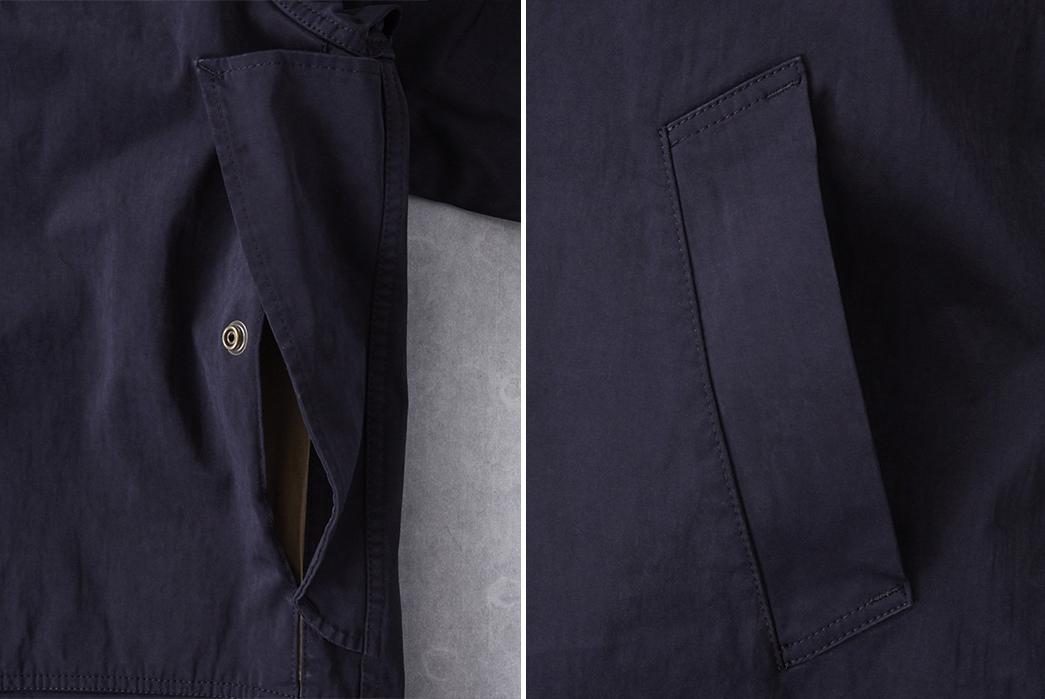 Ten-C-OJJ-Anorak-Jacket-pockets
