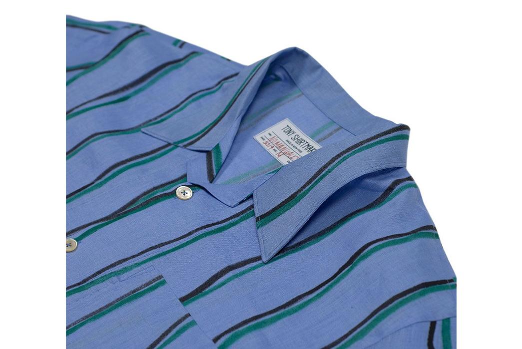 Tony-Shirtmakers-Hand-Painted-Camp-Collar-Shirts-front-collar