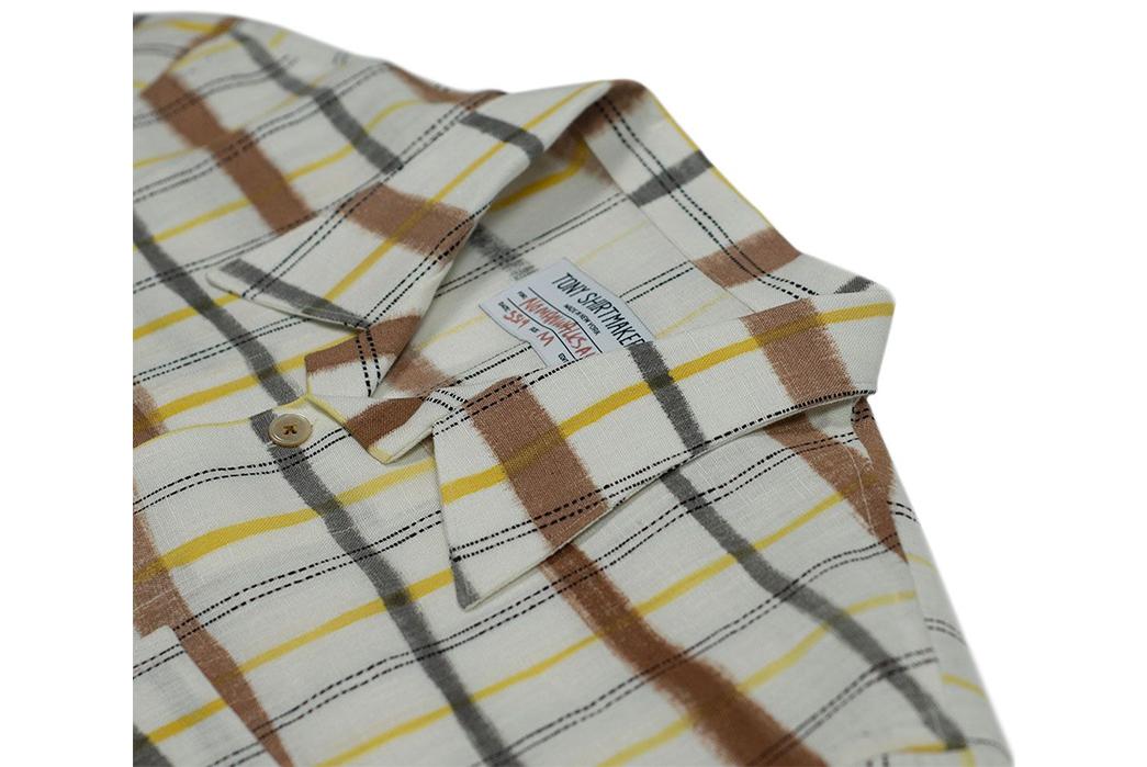 Tony-Shirtmakers-Hand-Painted-Camp-Collar-Shirts-grey-brown-collar