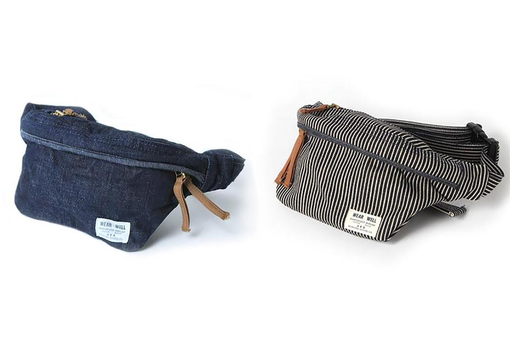 UES Has Been Slinging Their 14.9oz. Denim Waist Bags Before it Got Cool Again