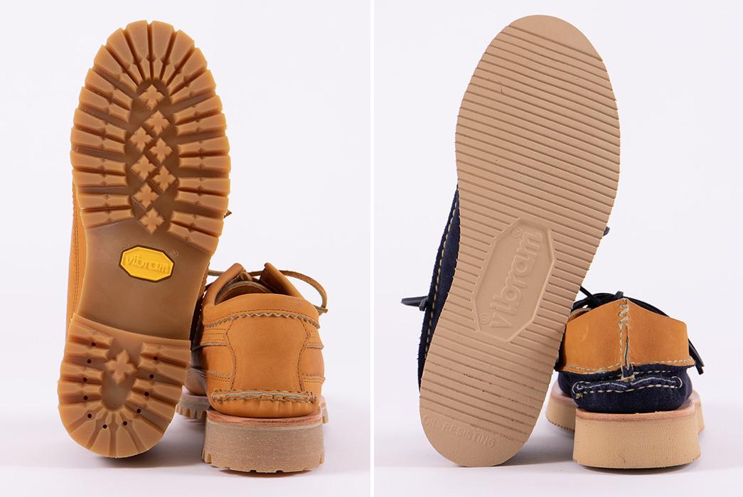 Yuketen-x-The-Bureau-Exclusive-Shoes-tan-and-indigo-tan-pair-bottom