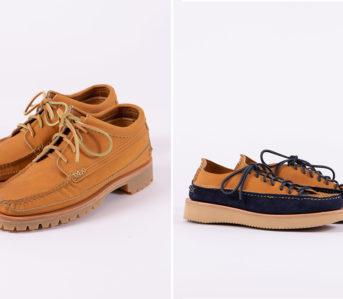 Yuketen-x-The-Bureau-Exclusive-Shoes-tan-and-indigo-tan-pair-sides-2