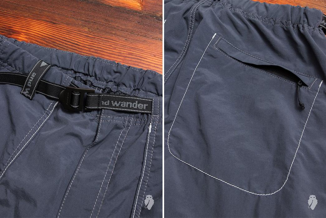 And-Wander-Climbing-Shorts-grey-front-back-detailed