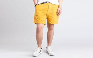 and-wander-climbing-shorts-yellow
