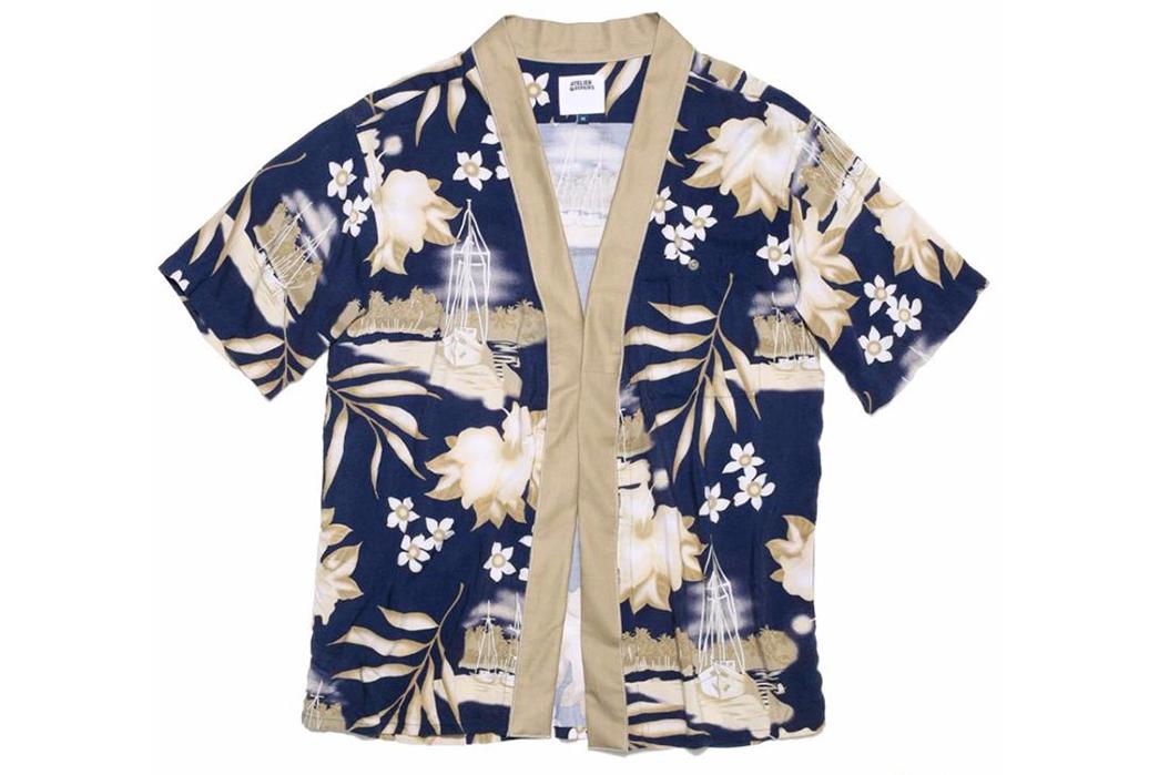 Atelier-&-Repairs-Celebrates-Golden-Week-with-a-Hawaiian-Shir-Noragi-Hybrid-blue-beige-front