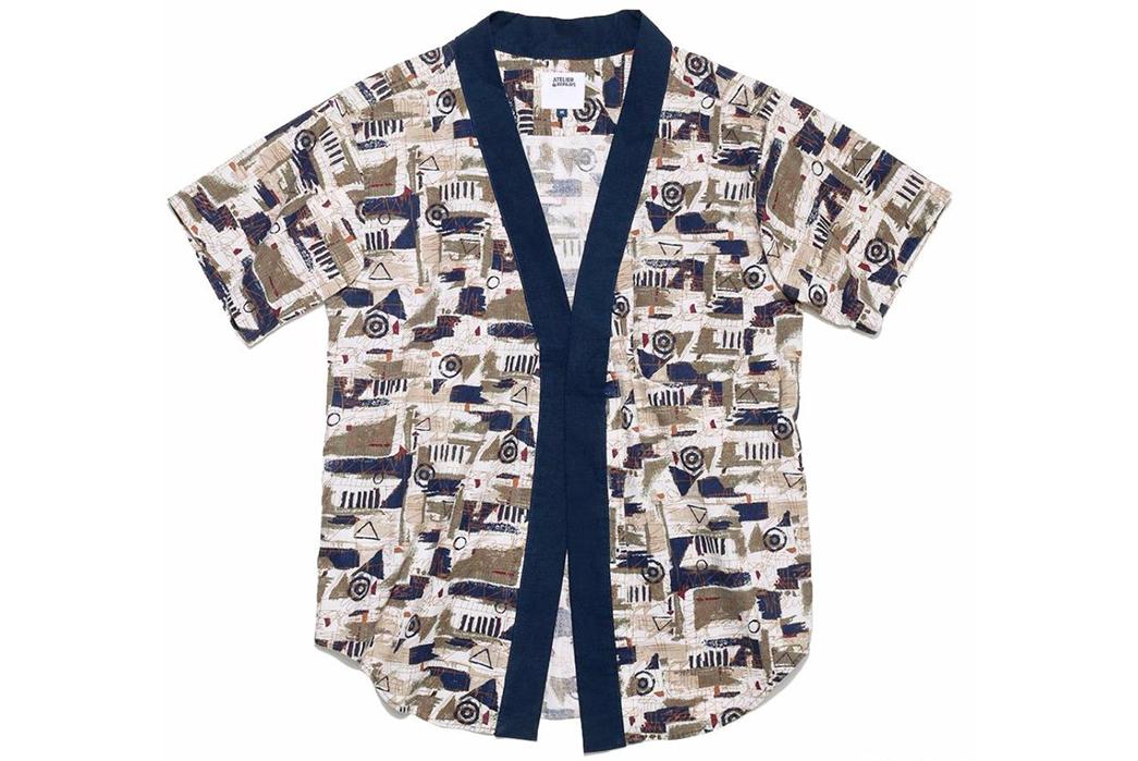 Atelier-&-Repairs-Celebrates-Golden-Week-with-a-Hawaiian-Shir-Noragi-Hybrid-blue-beige-white-front