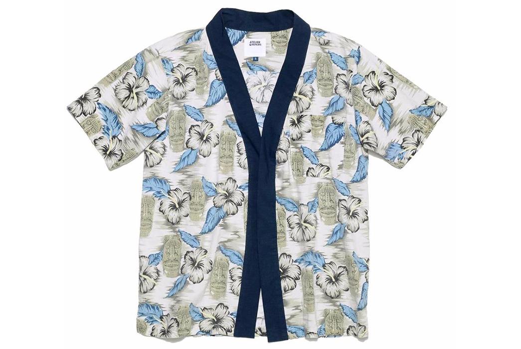 Atelier-&-Repairs-Celebrates-Golden-Week-with-a-Hawaiian-Shir-Noragi-Hybrid-blue-grey-front