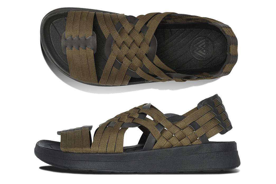 Backstrap-Sandals---Five-Plus-One 1) Malibu: Canyon Classic