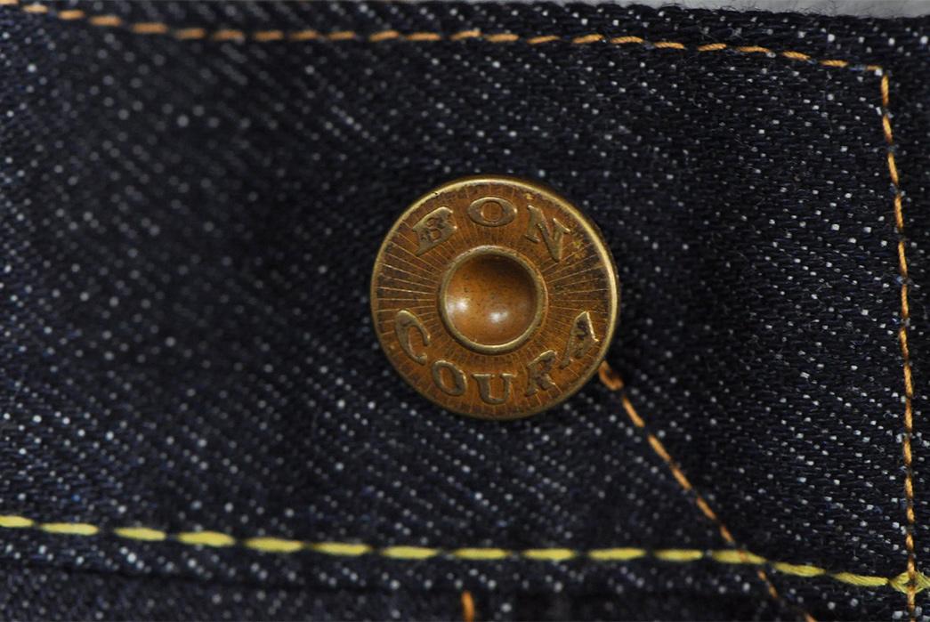 Boncoura-14.5oz.-Type-Z-Denim-front-top-button