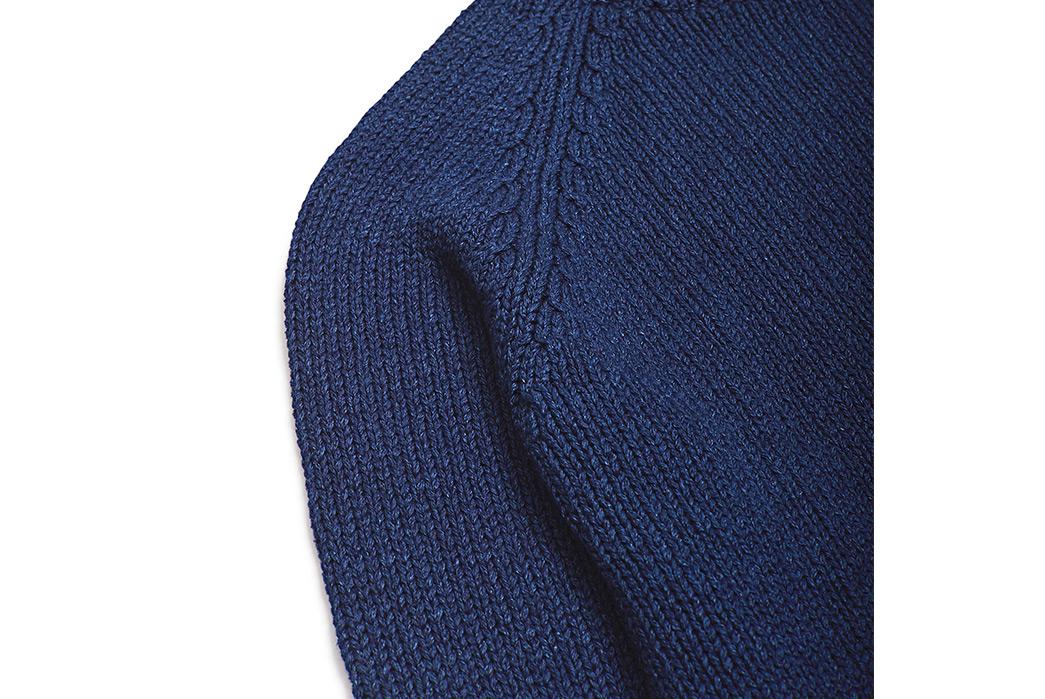 Corridor-Cotton-Crewneck-Sweaters-blue-front-shoulder