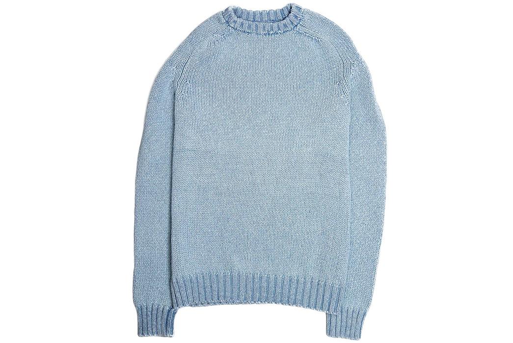 Corridor-Cotton-Crewneck-Sweaters-light-blue-front