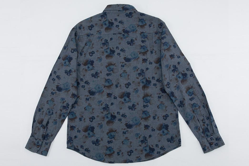 Eat-Dust's-Combat-Shirt-Features-Fading-Indigo-Flowers-back