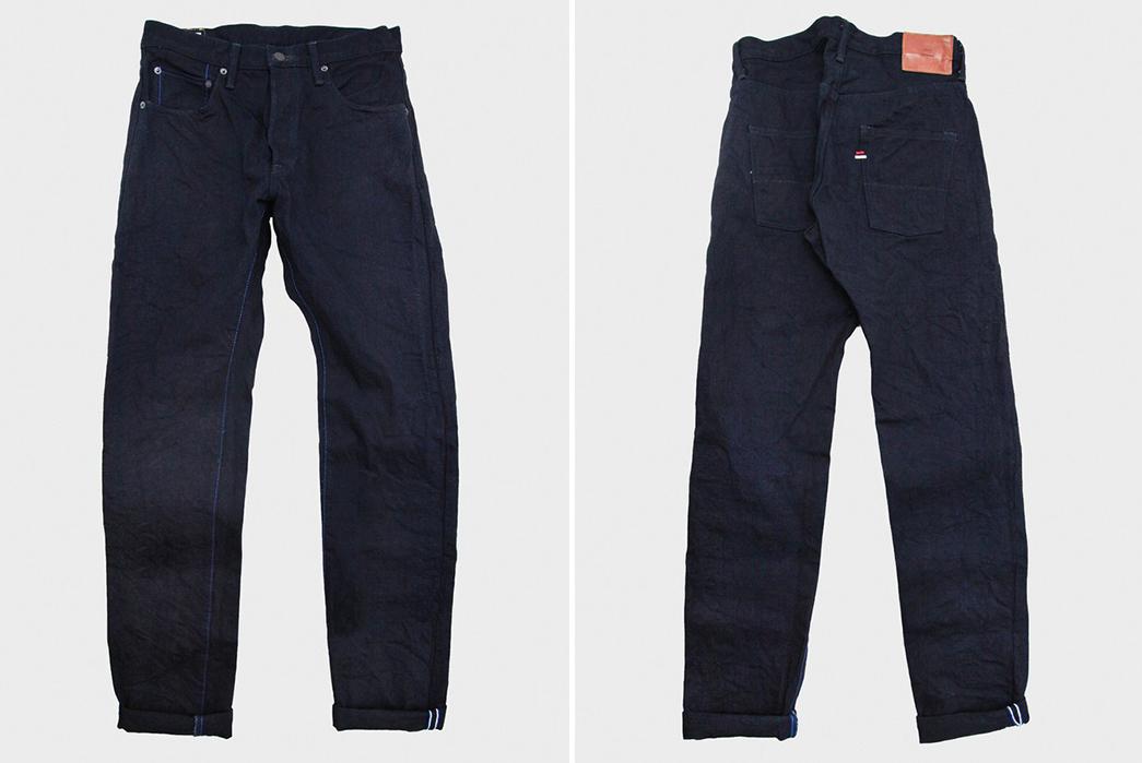 Indigo-Indigo-Selvedge-Jeans---Five-Plus-One-Plus-One---Tanuki-IDHT-Double-Indigo