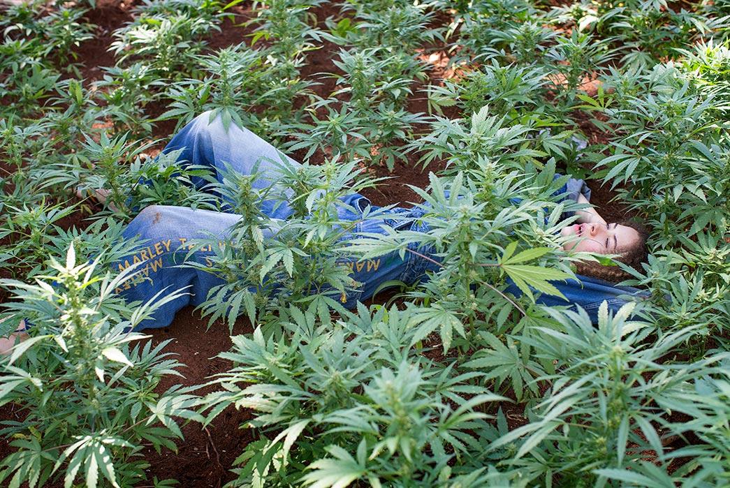 Kapital's-Yardie-Blues-Lookbook-Meanders-Through-Jamaica-and-Misadventure-female-lying-marihuanna