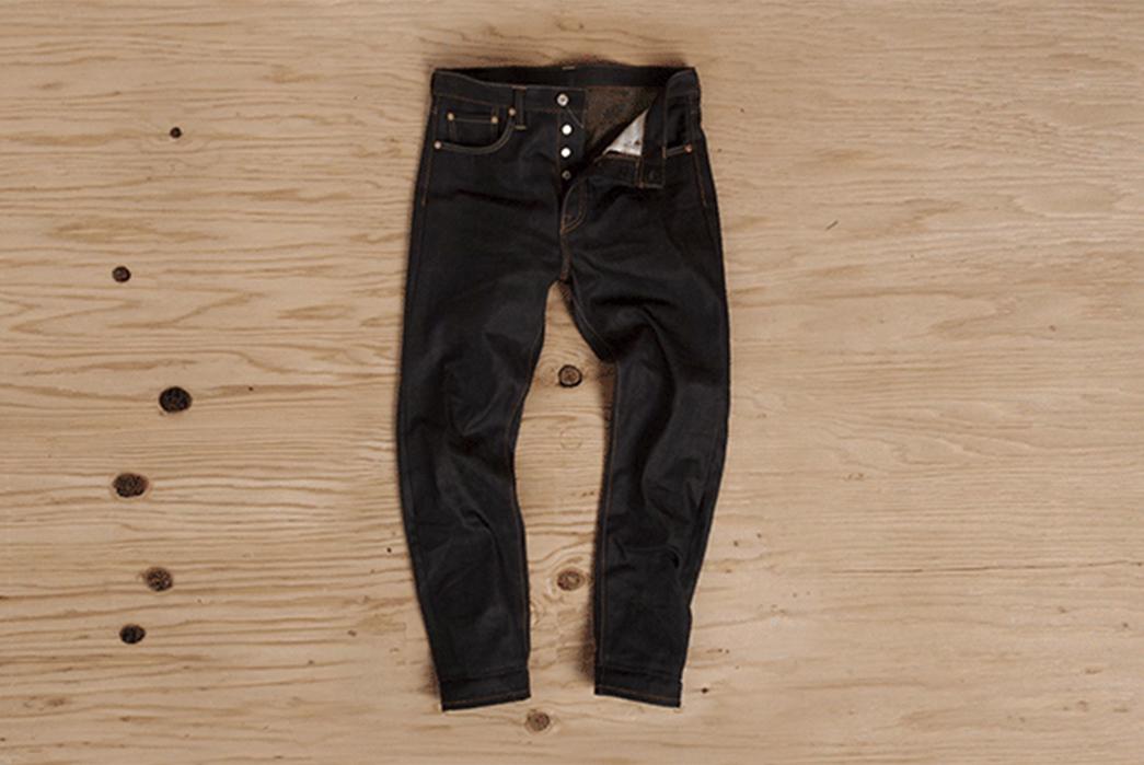 Levi's-501CT-Custom-Tapered-Raw-Denim-Jeans-front