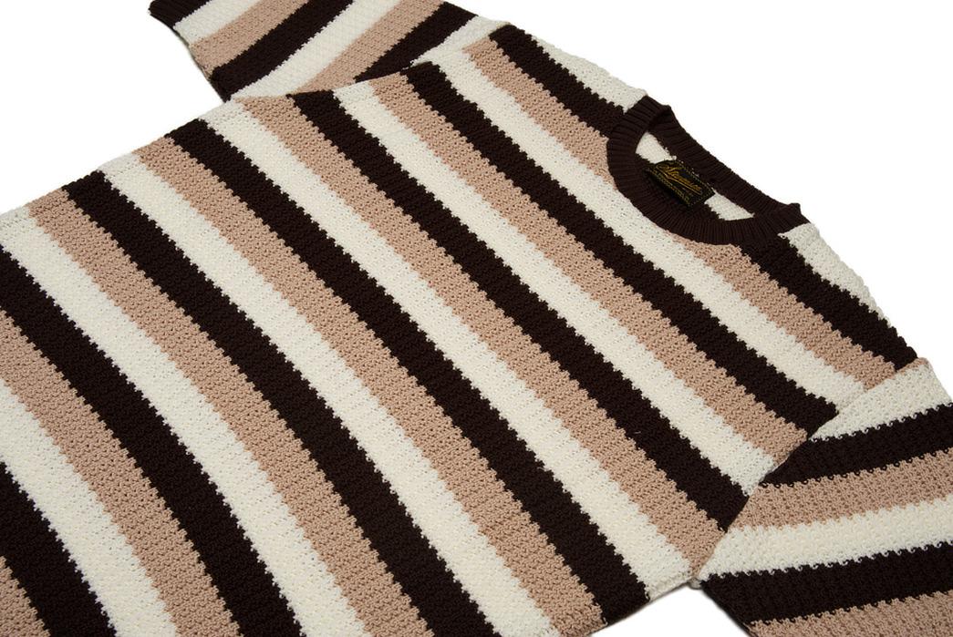 Stevenson-Endless-Drop-Summer-Knit-Shirts-brown-front-angle
