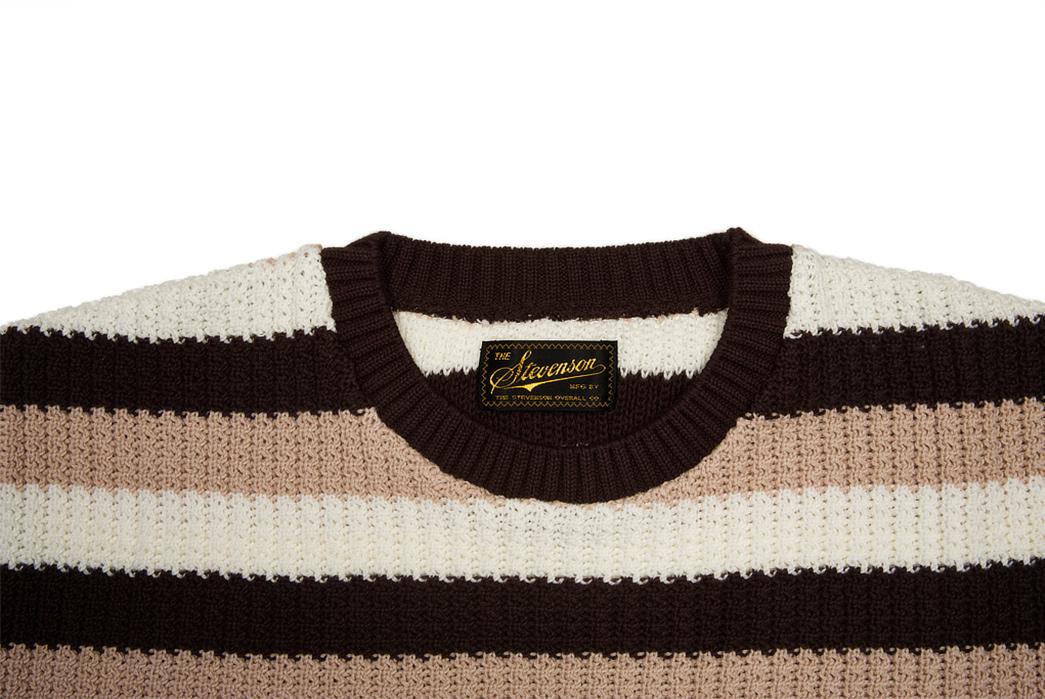 Stevenson-Endless-Drop-Summer-Knit-Shirts-brown-front-top-collar