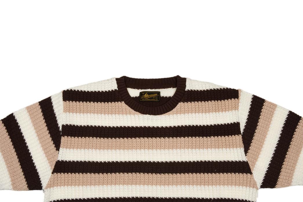 Stevenson-Endless-Drop-Summer-Knit-Shirts-brown-front-top