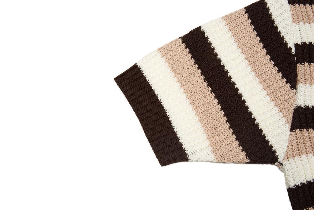 Stevenson-Endless-Drop-Summer-Knit-Shirts-brown-sleeve
