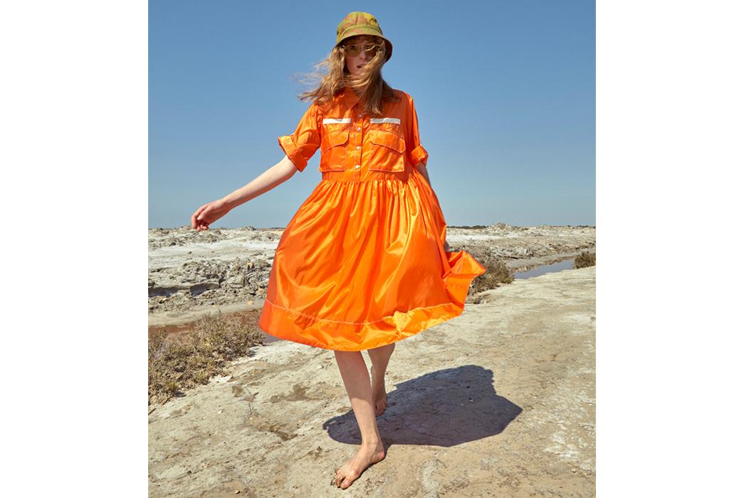 W'menswear-Spring-Summer-2019-orange-dress-2