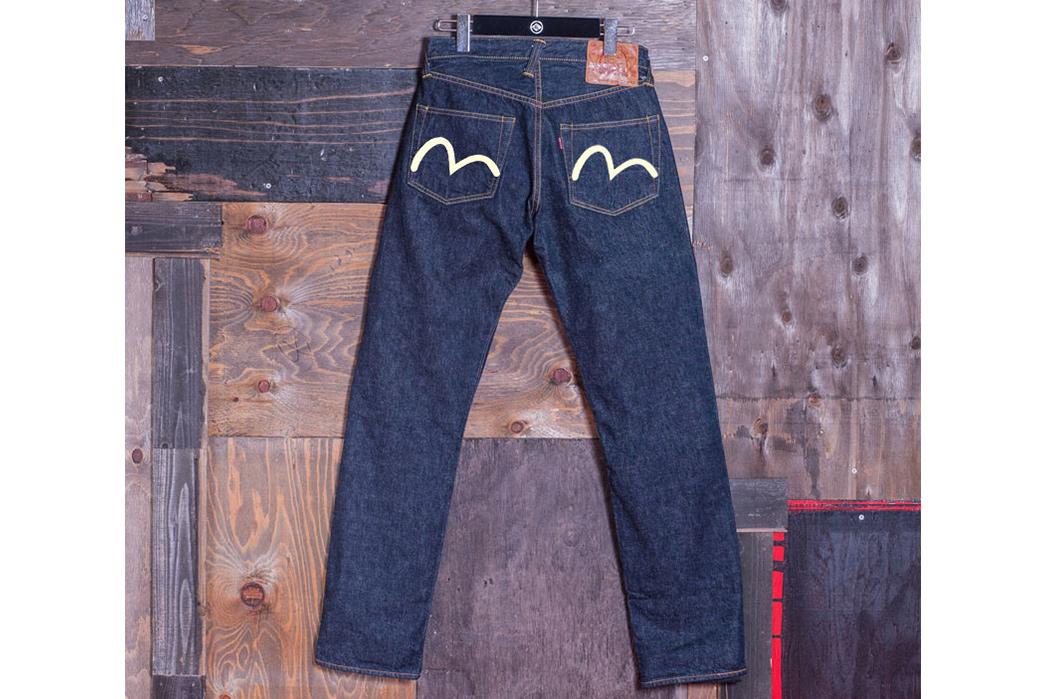 Evisu-Lot-2000-No.-1-Raw-Denim-Jeans-back