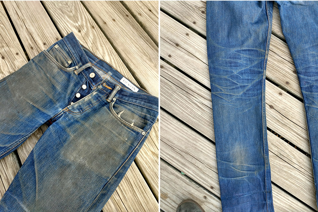 Fade-of-the-Day---Gustin-1968-Cone-14-oz.-(1-Year,-7-Washes)-front-and-detailed